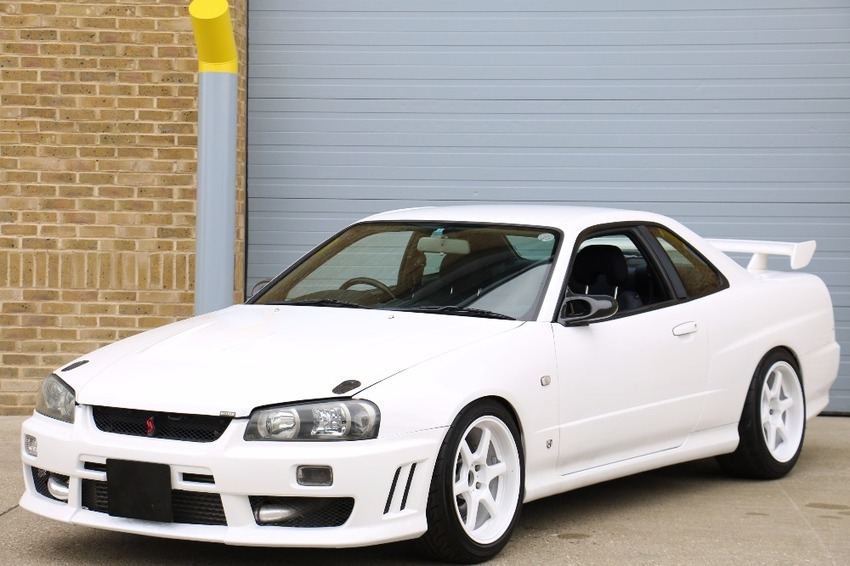 View NISSAN SKYLINE SUPER HIGH SPEC FULLY FORGED BUILD 600 BHP CAPABLE ANTI LAG LAUNCH CONTROL ETC ETC
