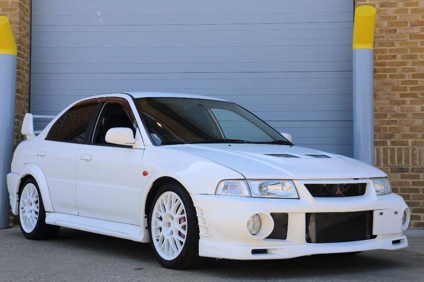 View MITSUBISHI LANCER EVO EVOLUTION 6 FRESH IMPORT  4 5 7 8 IMMACULATE THROUGHOUT ZERO RUST. **SOLD **SOLD**SOLD**
