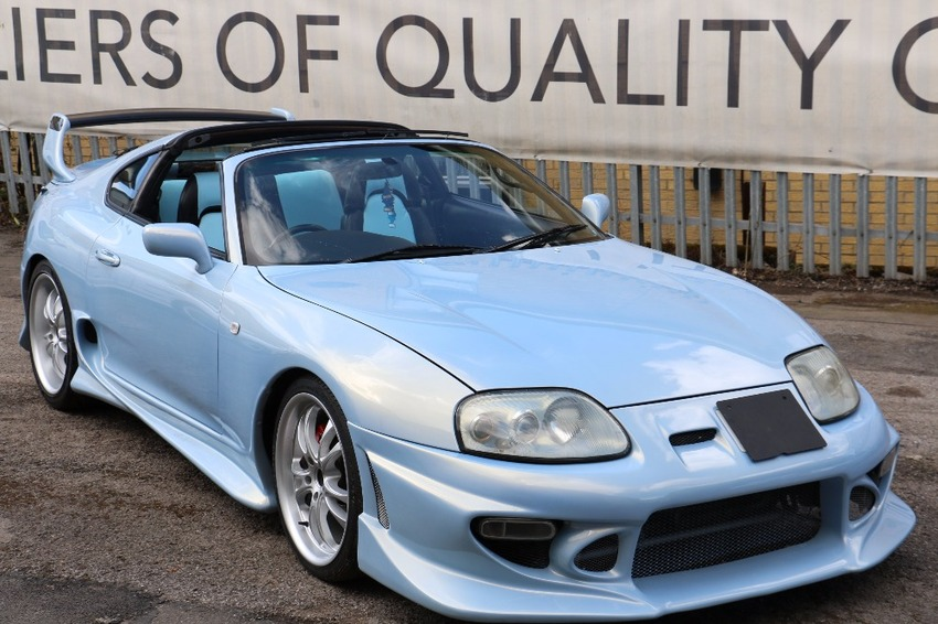 View TOYOTA SUPRA HIGH QUALITY SHOWCAR STANDARD AEROTOP NON TURBO CUSTOM LEATHER ETC ETC
