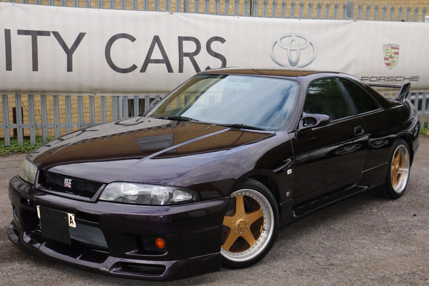 View NISSAN SKYLINE GTR R33 MIDNIGHT PURPLE ...NOW SOLD