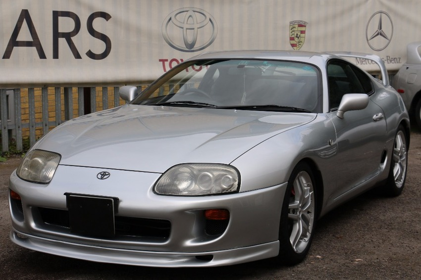 View TOYOTA SUPRA DEPOSIT TAKEN*5-SPEED MANUAL  PERFECT FOR EXPORT TO THE U.S. ONE OWNER LAST 10 YEARS...