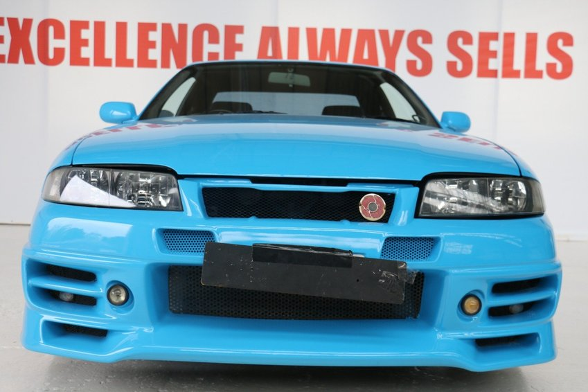 View NISSAN SKYLINE ONE OFF BODY PROFESSIONALLY DONE GTST 2.5 SINGLE TURBO SAMEDAY BUYING SERVICE CALL ON 07565211101