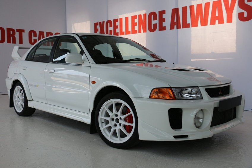 View MITSUBISHI LANCER EVO 5 COLLECTORS CAR GENUINE LOW MILES AND PERFECT CONDITION