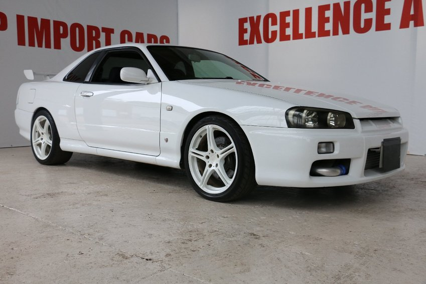 View NISSAN SKYLINE 2.4 GTT TRIPTRONIC F1 R34 RUST FREE EXAMPLE THROUGHOUT