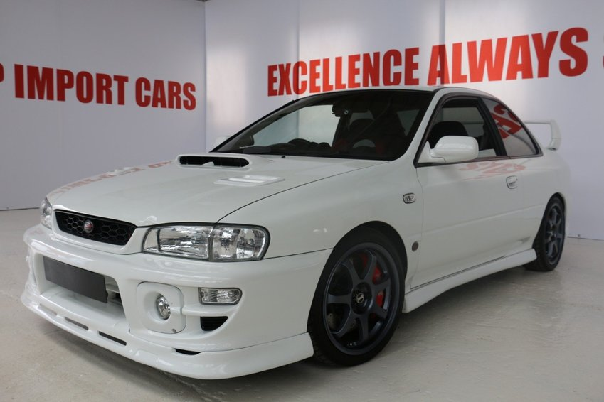 View SUBARU IMPREZA TYPE R LIMITED ULTIMATE SPEC YOU WONT FIND BETTER P1