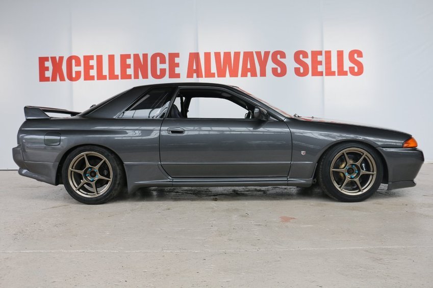 View NISSAN SKYLINE Nissan Skyline R32 GTR VSPEC HIGH SPEC FULLY BUILT FORGED+INVOICES+DYNO @615 BHP