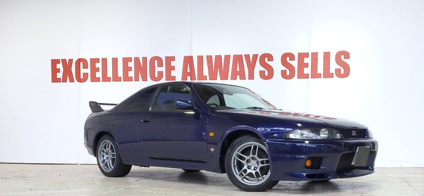 NISSAN SKYLINE GTR R33 MINT+RUST FREE+GENUINE MILES+GOOD MOT HISTORY+RARE COLOUR