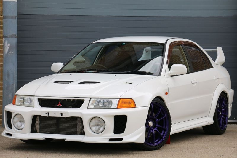 View MITSUBISHI LANCER EVO 5 FRESH IMPORT SHOWCAR STANDARD RUST FREE UNDERBODY INVESTMENT GRADE CAR